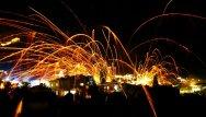 Фестиваль ракет в Греции